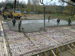 Утепленная шведская плита (УШП)