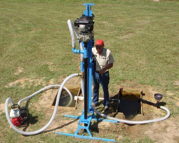 Бурение скважины, водоснабжение дома