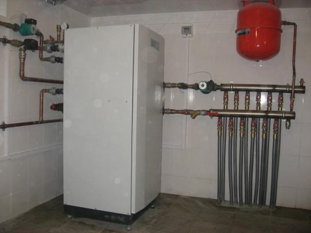 Тепловой насос для отопления фото