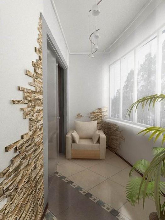Утепленный балкон или лоджия