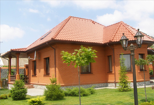 Скатные крыши фото