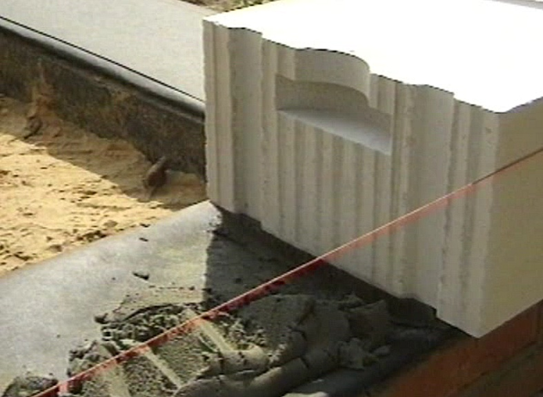 возведения стен из блоков