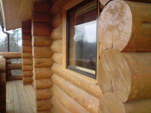 Сруб дома из бревна, устройство и особенности