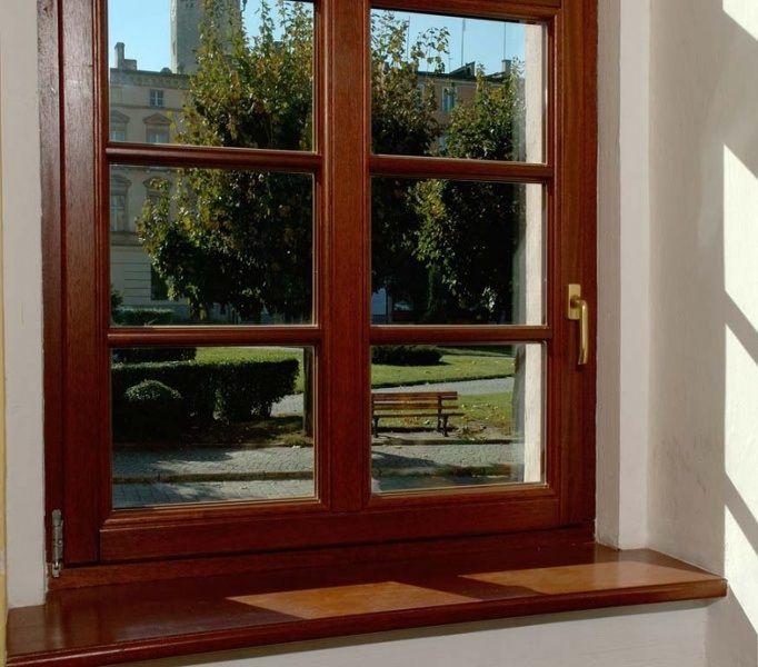 Деревянные окна в своем доме