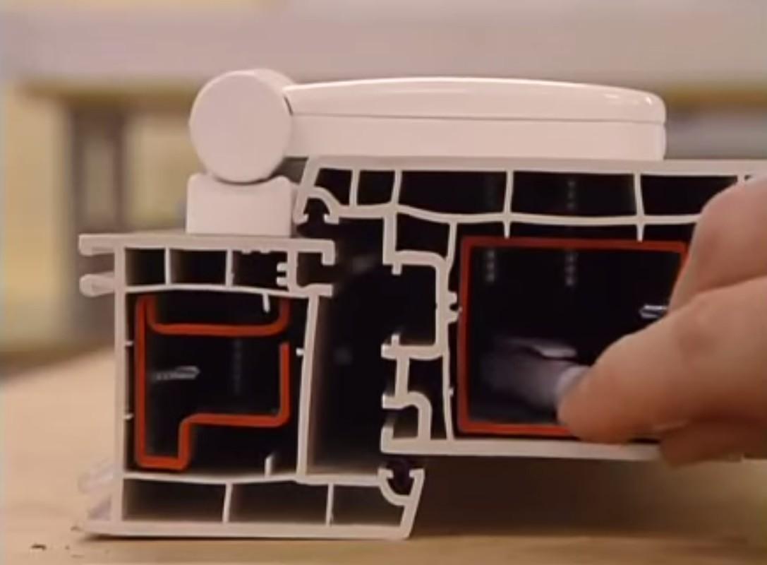 Коробка ПВХ пластиковые двери