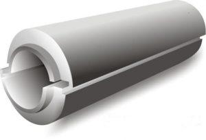 Скорлупа ППУ для труб, теплоизоляция трубопровода, тепломагистралей.