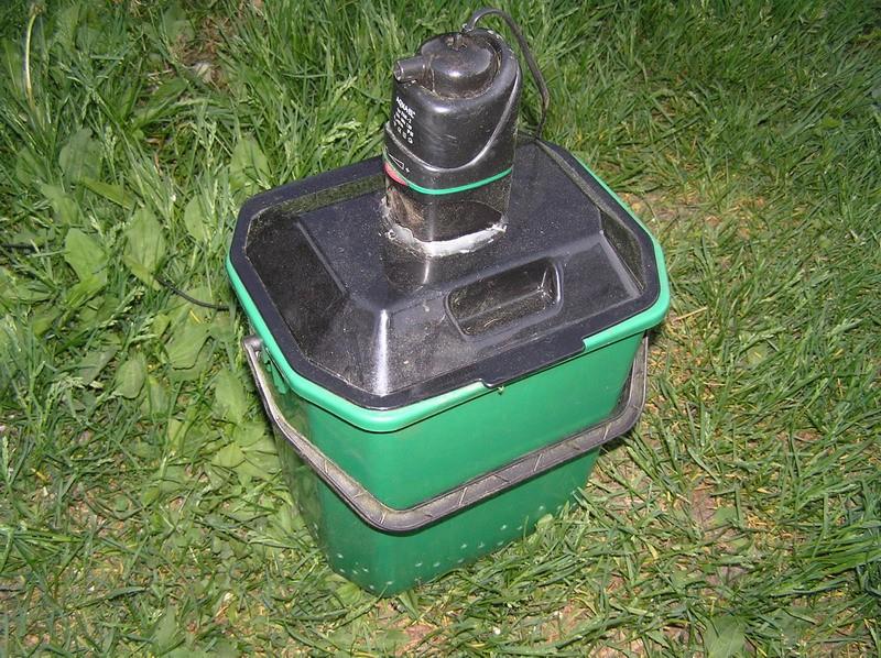 Фильтр на основе пластикового ведра