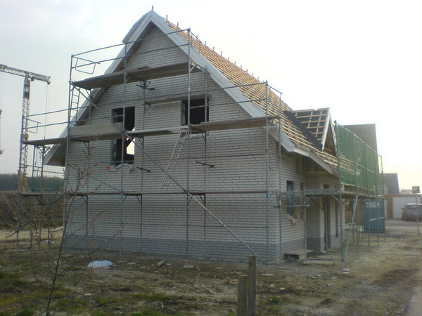 Дом газобетон фото