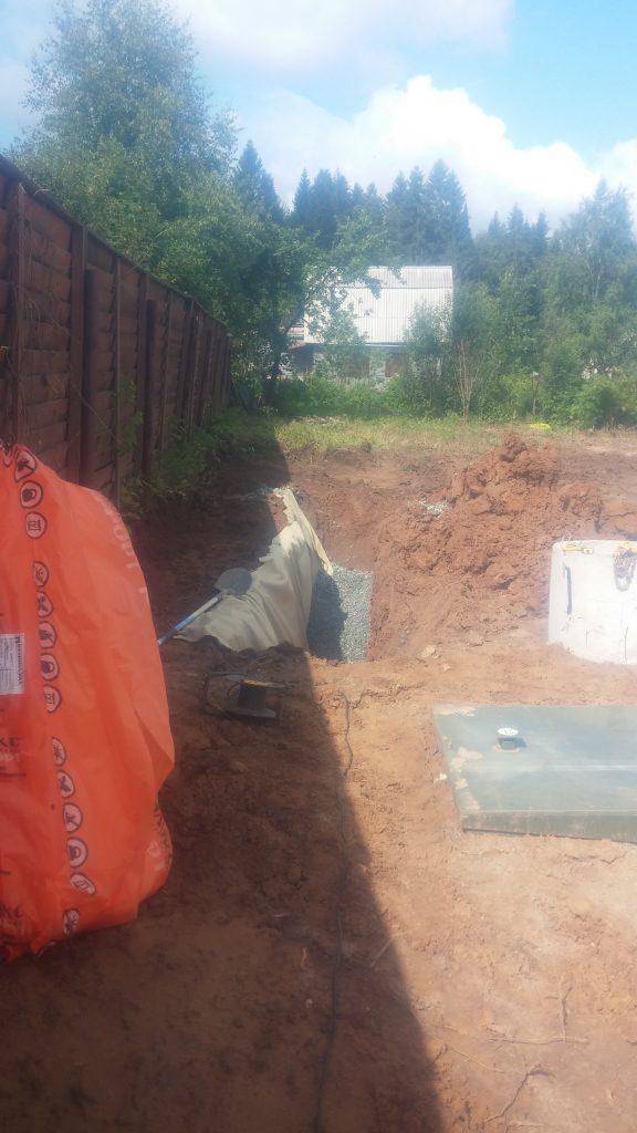 Как сделать дренаж канализации