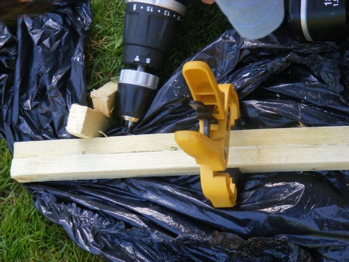 Как сделать мостик на даче
