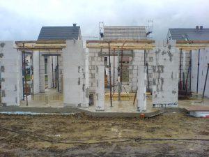 Дом из газобетона своими руками, фото, инструкция