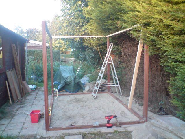 как построить сарай на даче