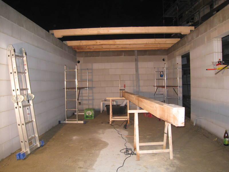 крыша гаража односкатная