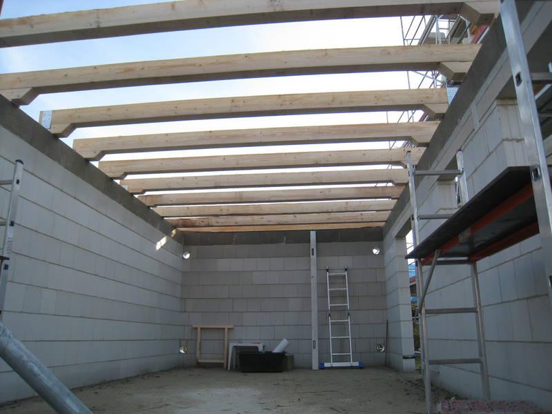 крыша гаража из рубероида