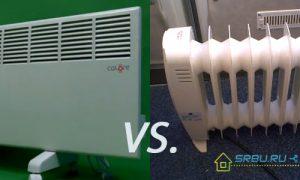 Конвектор или масляный обогреватель — сравнение характеристик