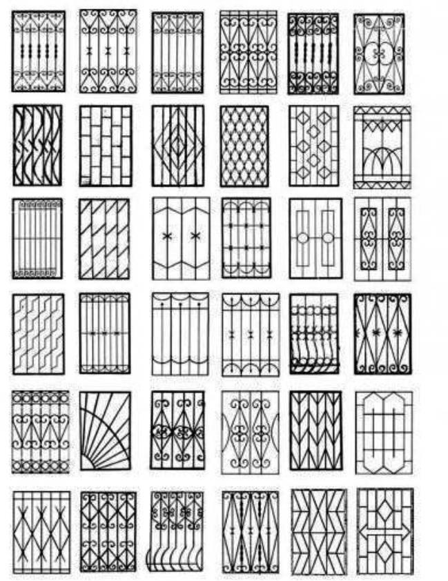 Варианты решеток на окна купить