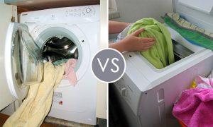 Стиральная машина: с фронтальной или вертикальной загрузкой?