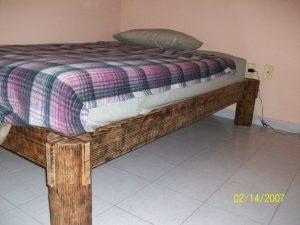Сборная кровать для дачи своими руками