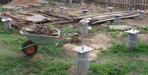 Как построить столбчатый фундамент: фото и подробное описание процесса
