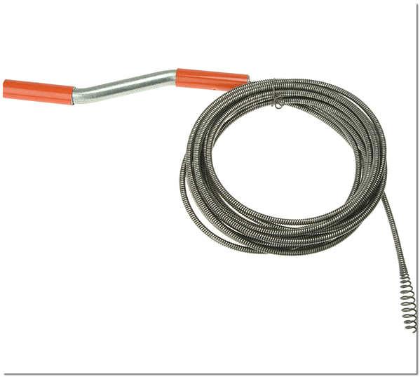 Сантехнический трос для прочистки труб