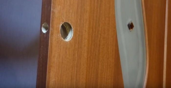 Инструкция по установке замка в дверь