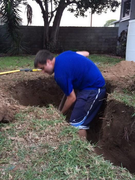 Как выкопать траншею для дренажа своими руками