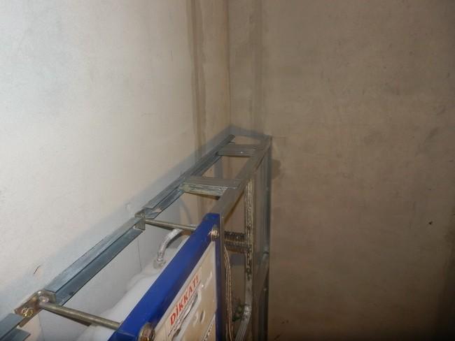 как установить подвесной унитаз без инсталляции