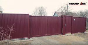 Как установить откатные ворота своими руками