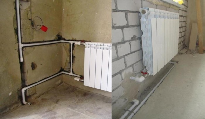 Как спрятать и задекорировать трубы отопления