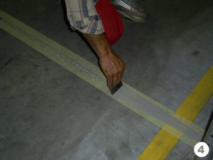 Герметизация швов в бетонных полах и стенах