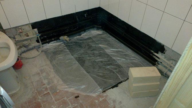 Поддон для душа в квартире гидроизоляция пленка