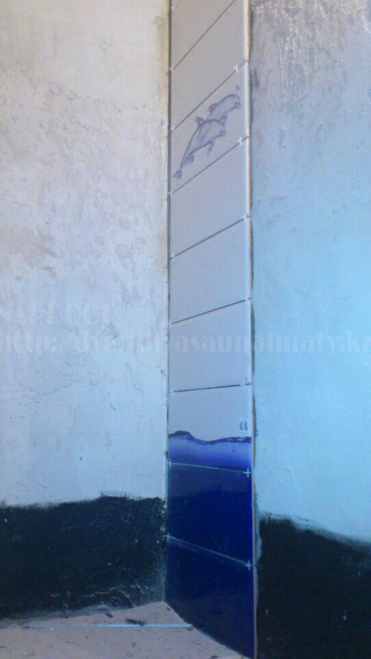 Укладка плитки душевой кабины