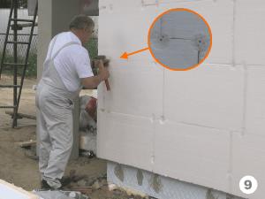 Термоизоляция здания — Как утеплить стену пенопластом?