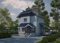 Дом из ячеистого бетона Уют-2