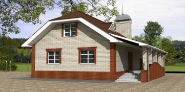 Проект дома ПО-03-195
