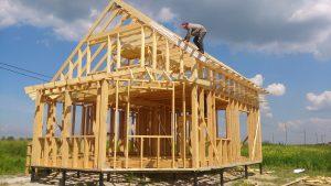 Из какой доски нужно строить каркасный дом