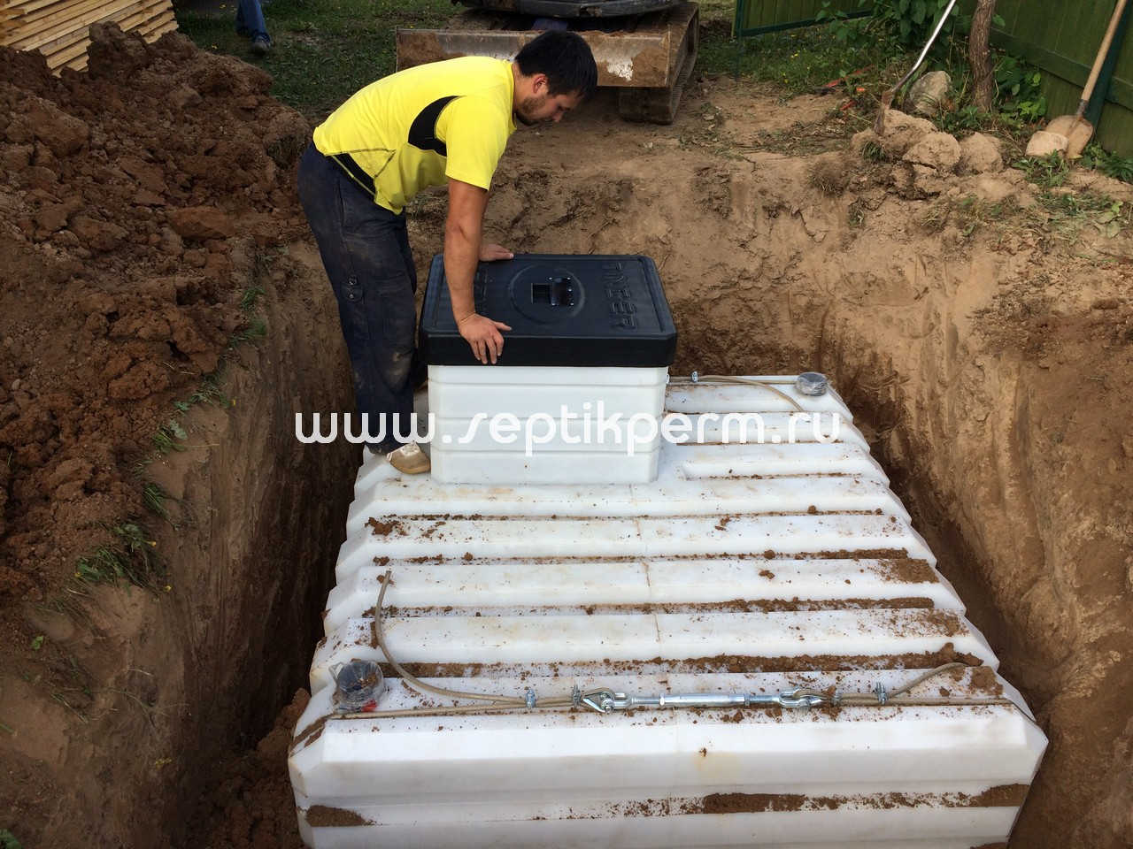 крепление погреба
