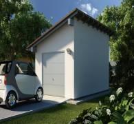 Односкатный гараж: проектируем крышу