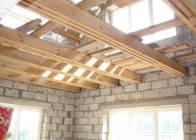 Чердачное перекрытие на деревянных балках: лучшие современные конструкции