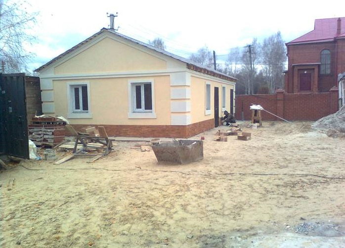 Утепленный старый дом