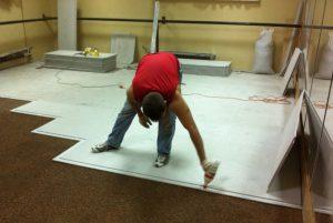 Ровный пол без песчано-цементной стяжки – это быстро и просто