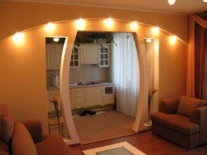 Гипсокартонная арка: пошаговая инструкция изготовления