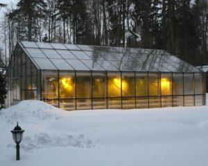 Отопление теплицы зимой своими руками: возможные варианты