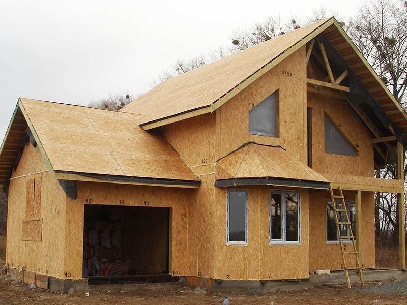 Что такое сэндвич панели для строительства дома