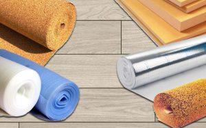 Подложка под ламинат: выбираем лучший материал