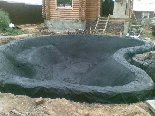 гидроизоляция бассейна жидкой резиной фото