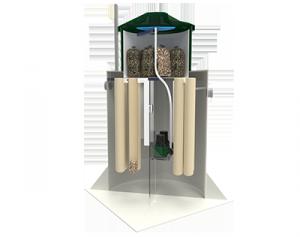 Автономная канализация (септик) Коло Веси Коломаки Пиетари