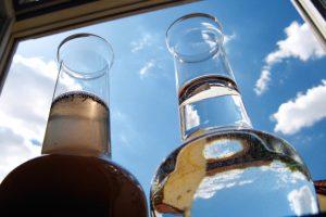 Фильтры очистки воды: слив промывочной воды в септик «Топас»