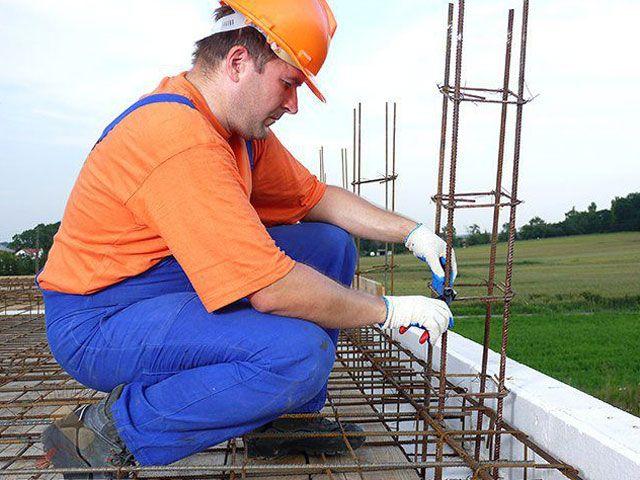 Работа со строительной арматурой