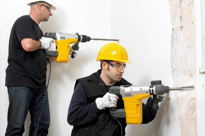 Как снести стену в квартире с помощью перфоратора